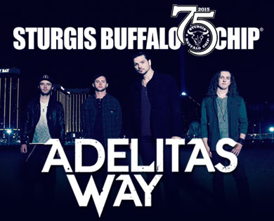 Adelitas Way Helps Close Out August Music Festival on Final Night of the Sturgis Rally