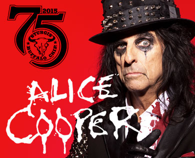 Alice Cooper Will Shock the Chip Aug. 1 During One of 2015's Most Electrifying Sturgis Concerts