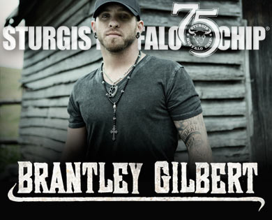 Sturgis Bike Week Festival Adds Brantley Gilbert to Lineup