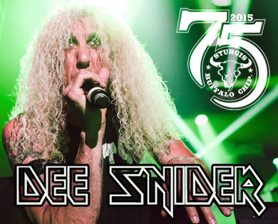 Dee Snider Joins Lineup of Sturgis Concerts Aug. 3