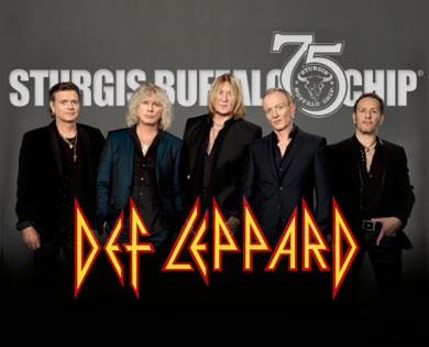 Lineup of Sturgis Concerts to Include Def Leppard