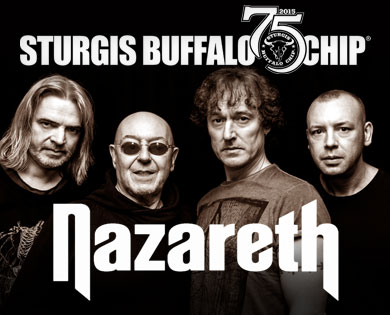 Nazareth to Rock Sturgis Motorcycle Rally