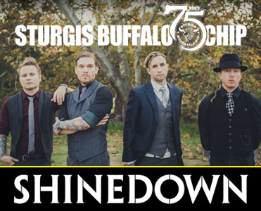 Shinedown Will Rock the Chip Aug. 4 During One of 2015's Most Intense Sturgis Concerts
