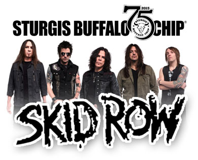 Skid Row's Heavy Metal Mayhem will Make August Music Festival Goers Wild Aug, 7 2015.