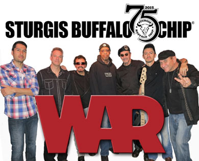 WAR to Close Out Nine Days of Sturgis Concerts on Wolfman Jack Stage