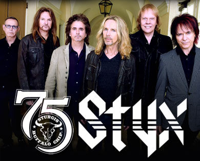 Styx will be Rockin' the Chip on Aug. 6.