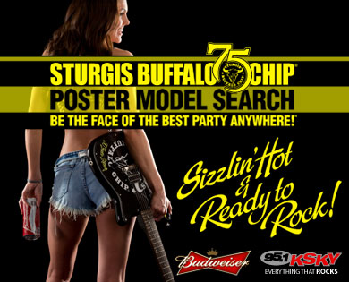 Biker babes compete to be the face of the premier Sturgis Rally festival