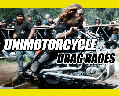 Unimotorcycle Drag Races to Compete at The Chip® During Sturgis Bike Week