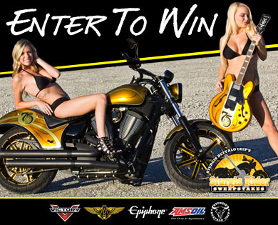 Motorcycle Sweepstakes Winner Rides Home from Sturgis Rally on Custom Bike from Ness Motorcycles
