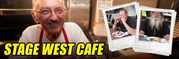 Stage West Café Offers Rally Fans Homemade Cuisine