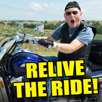 Highlights from Sturgis Rides and Bike Events