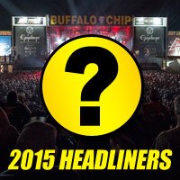 2015 Sturgis Concerts at the Chip Cause Speculation