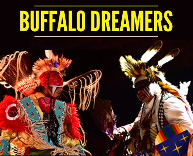 Buffalo Dreamers Perform Native American Dances Nightly throughout the Sturgis Rally