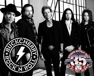 Buckcherry Rev Up August Music Festival at Sturgis Buffalo Chip