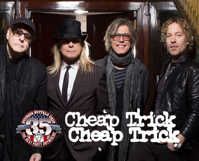 2016 August Music Festival Lineup to Include Cheap Trick