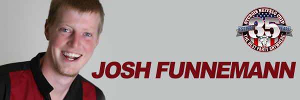 Josh Funnemann Performs Nightly during Sturgis Rally at Buffalo Chip Comedy Club