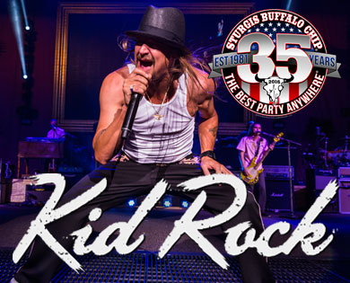 Largest Music Festival in Motorcycling announces Kid Rock for 2016
