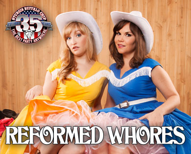 Reformed Whores Accept Your Sordid Past and Entertain You Anyway with Hilarious August music festival performances