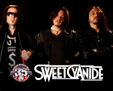 Sweet Cyanide Kicks Starts Night of Sturgis Concerts Aug. 12