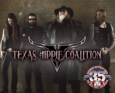 Texas Hippie Coalition's Red Dirt Metal Will Have August Music Festival Audience Turning It Up Aug. 9
