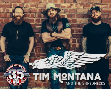 Celebrate 35 years of The Best Party Anywhere® during the 2016 Sturgis Rally with one of the hardest working acts in country rock music.