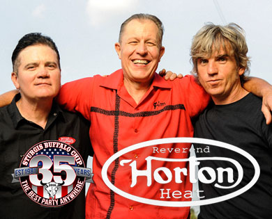 Reverend Horton Heat Brings Southern Rockibilly to Sturgis Buffalo Chip's August Music Festival