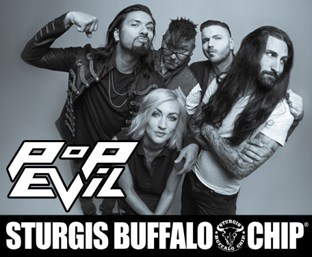 Pop Evil Rock's the Chip's Moto Stampede with Powerful Cocktail of Grungy Melodic Alt-Rock