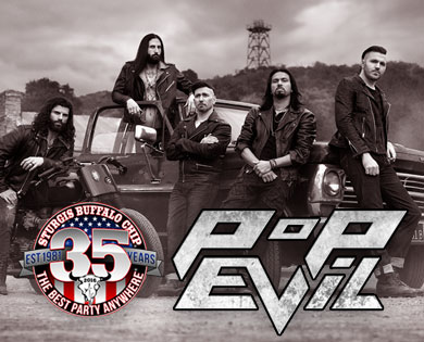 Pop Evil Kicks Off the Chip's August Music Festival with Powerful Cocktail of Grungy Melodic Alt-Rock
