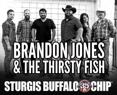Free Concerts from Brandon Jones and the Thirsty Fish during the August Music Festival