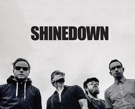 Shinedown will rock the August music festival as part of the Sturgis Buffalo Chip Moto Stampede