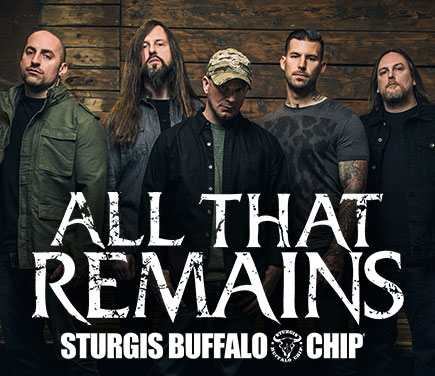 All That Remains will Make August Music Festival Goers Lose Their Minds to Metal Madness Aug. 11, 2017.