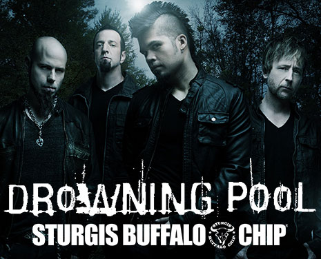 Drowning Pool will Make August Music Festival Goers Bodies Hit the Floor Aug. 4, 2017.