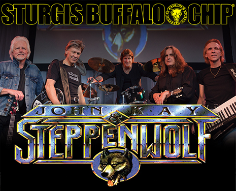 Party down at the Largest Music Festival in Motorcycling® with the most iconic biker rock band of all time, John Kay & Steppenwolf!