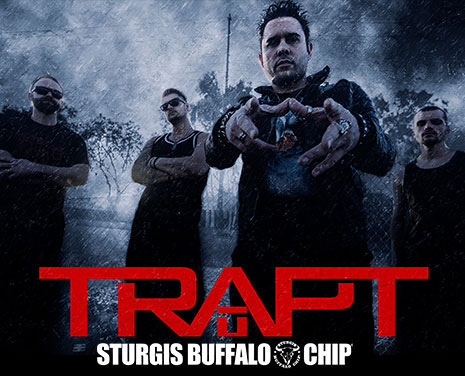 Trapt to Perform during Sturgis Buffalo Chip Music Festival Kickoff Party on Friday, Aug. 4