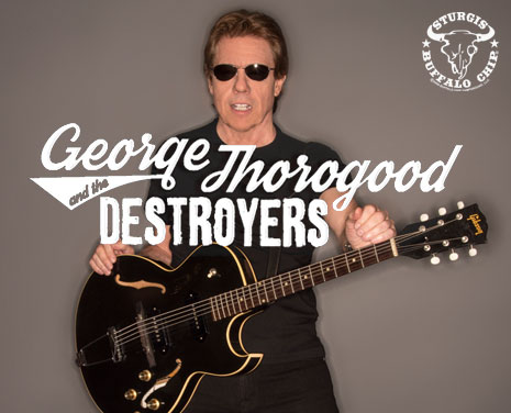 George Thorogood and the Destroyers Rock Party Tour will rock the Chip's August music festival on Aug. 10.
