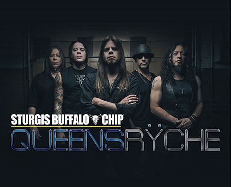 Don't miss Queensrÿche's killer performance at the Sturgis Buffalo Chip on Saturday, August 11, 2018!
