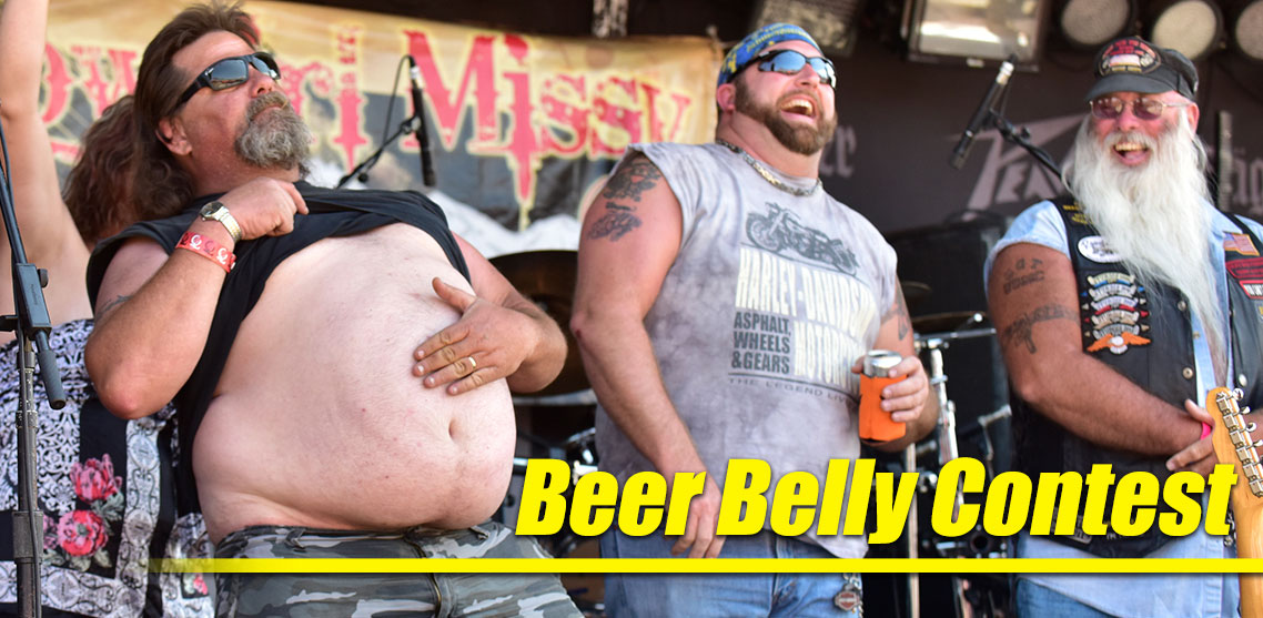 The Fan Fest Beer Belly Contest Puts Your Waist Line on the Line for Sweet Prizes