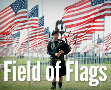 Field of Flags Display Open to the Public during Sturgis Motorcycle Rally