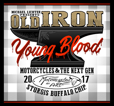 See the work of over 50 custom builders at artists in this free Sturgis Buffalo Chip exhibit curated by Michael Lichter