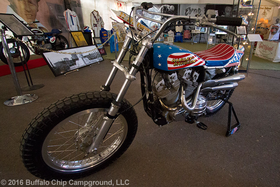 Evel Knievel 1970 Harley Davidson Xr750 Jump Bike By: Rattlesnake Jump By Motorcycle Daredevil Doug Danger At