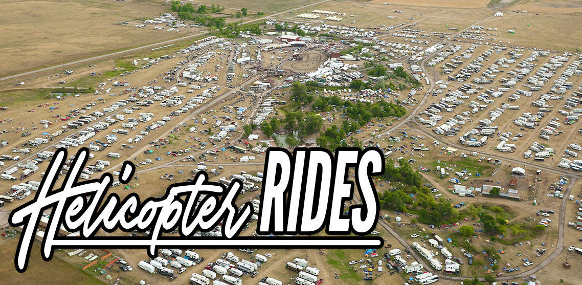 Take a Helicopter Tour Over the Sturgis Rally