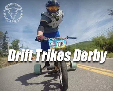 Trike Daddy Hosting Drift Trikes Derby during Sturgis Motorcycle Rally