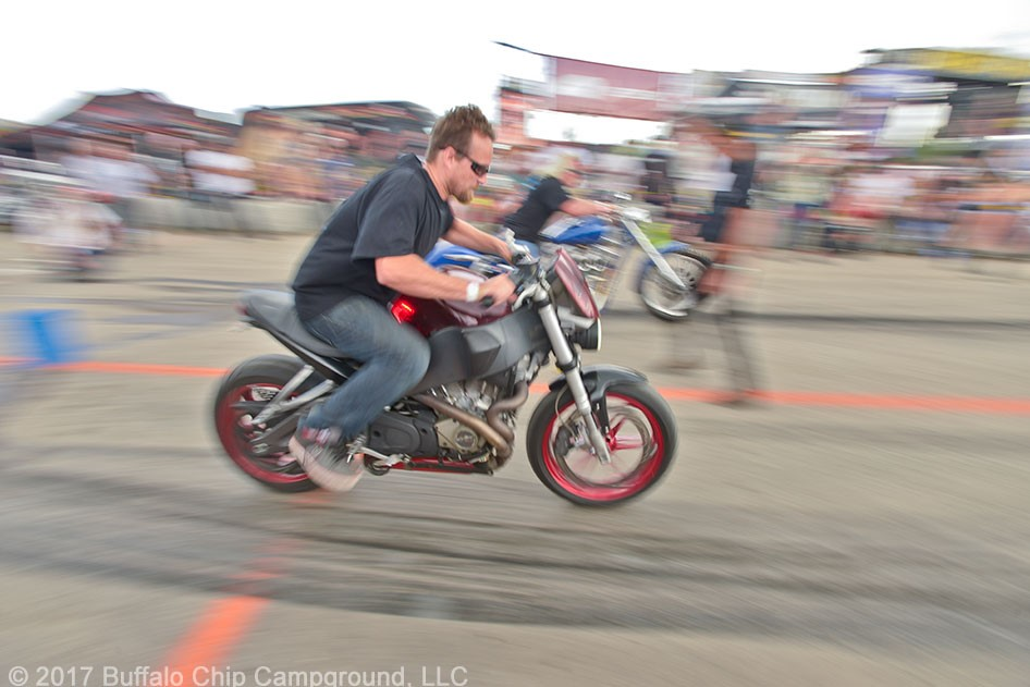 Sturgis Buffalo Chip Street Drag Invitational With Crazy