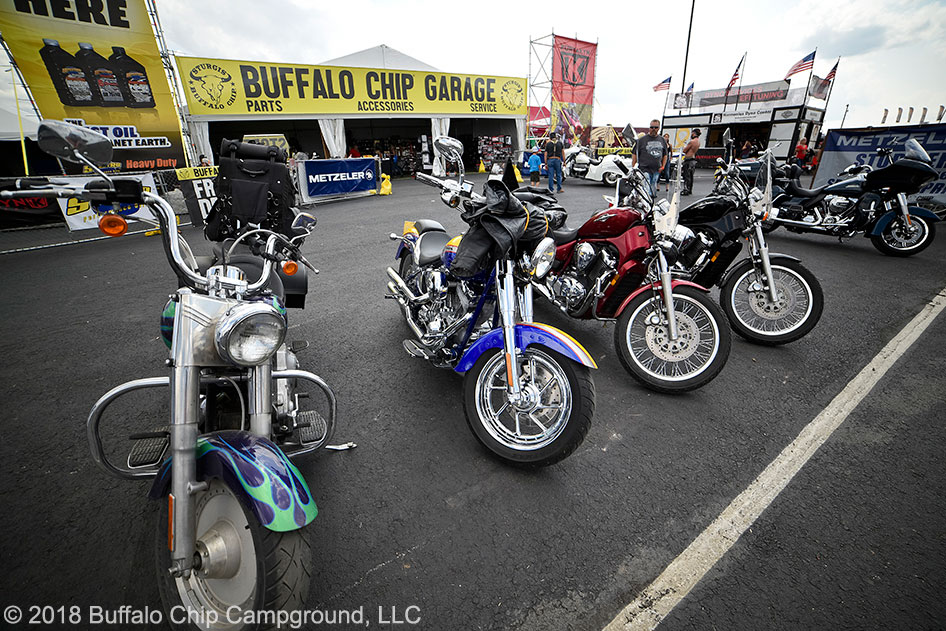 Sturgis Buffalo Chip-Campground Offer Unparalleled Amenities