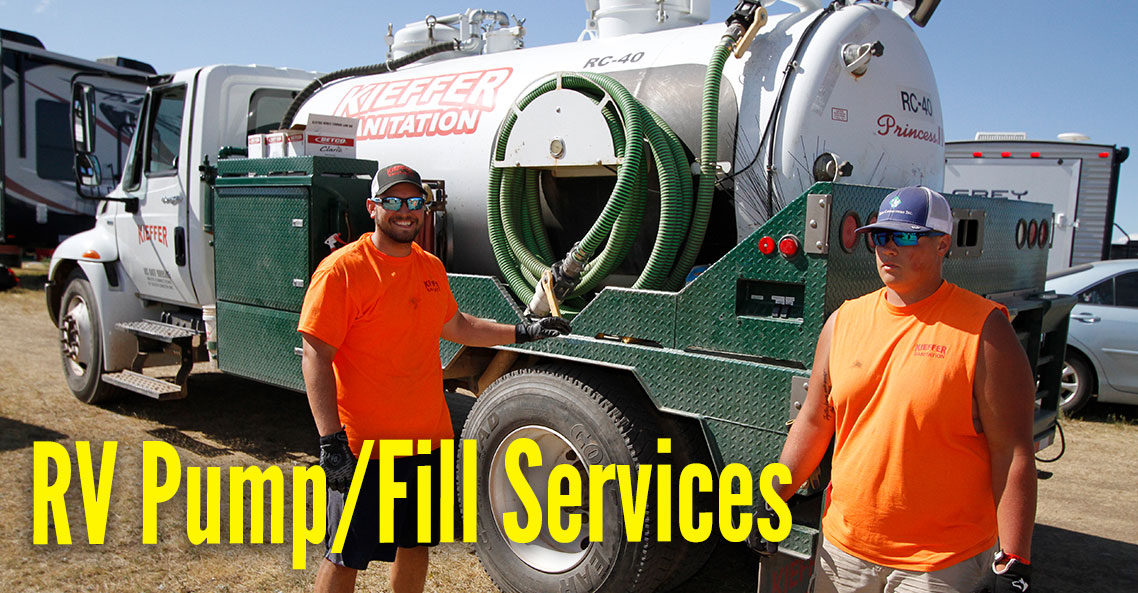 RV Pump and Fill Services during the Sturgis rally