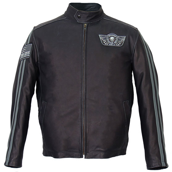 b6eec18ad The Woody Limited Premium Leather Motorcycle Jacket