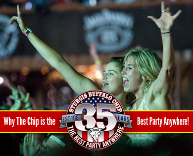 World-Class Sturgis Concerts at the Chip