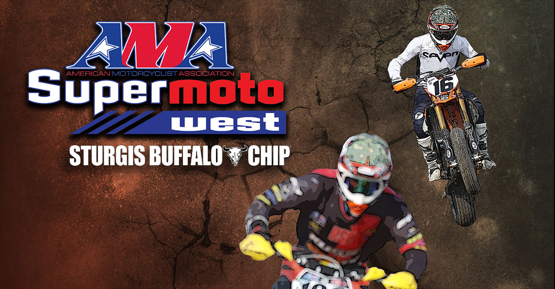 AMA Supermoto Brings its Race Series to Sturgis Buffalo Chip to Join Moto Stampede Event Series