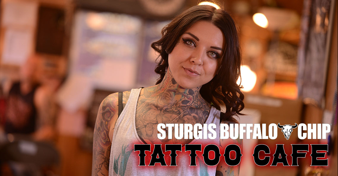 Tattoo Café Offers Awesome Art at Sturgis Rally!