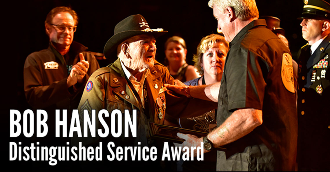 Bob Hanson Distinguished Service Award Serves as Veterans Tribute during Sturgis Rally